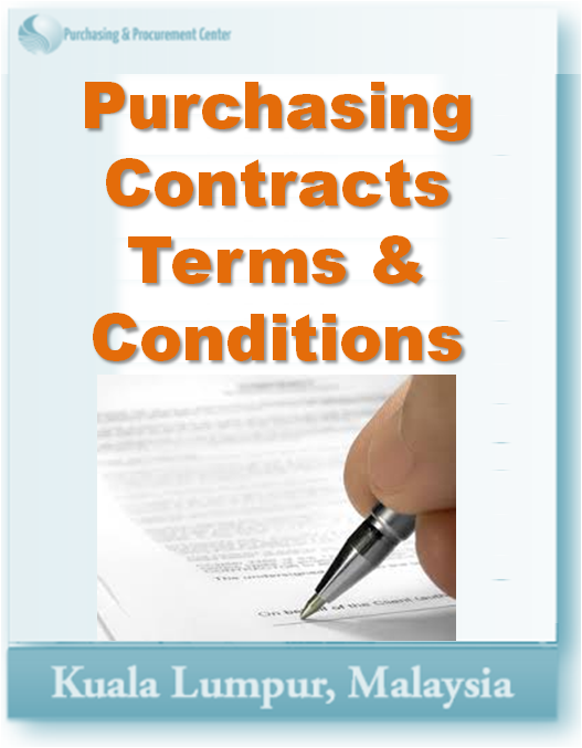 Purchasing Contracts Terms & Conditions